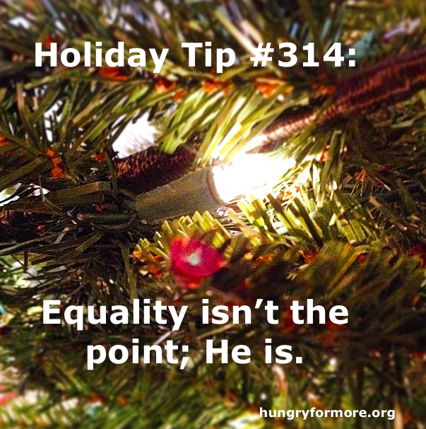 Holiday equality